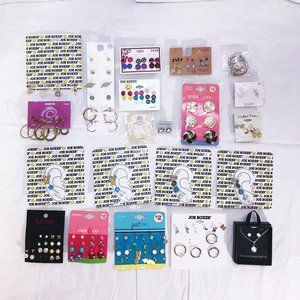 Big Lot of New Basic Quality Earrings & More